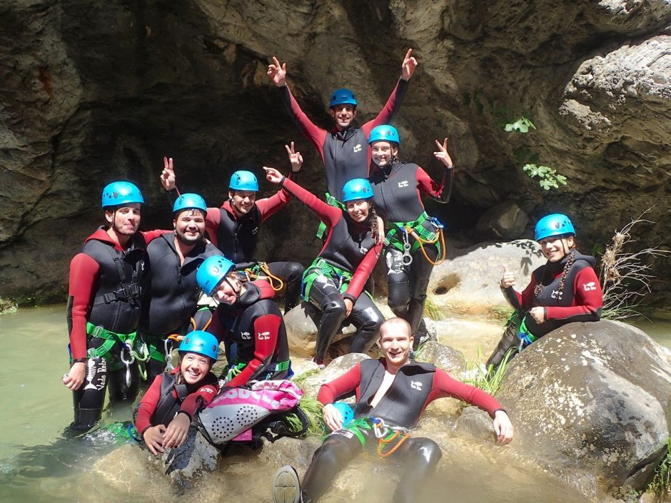 canyoning home